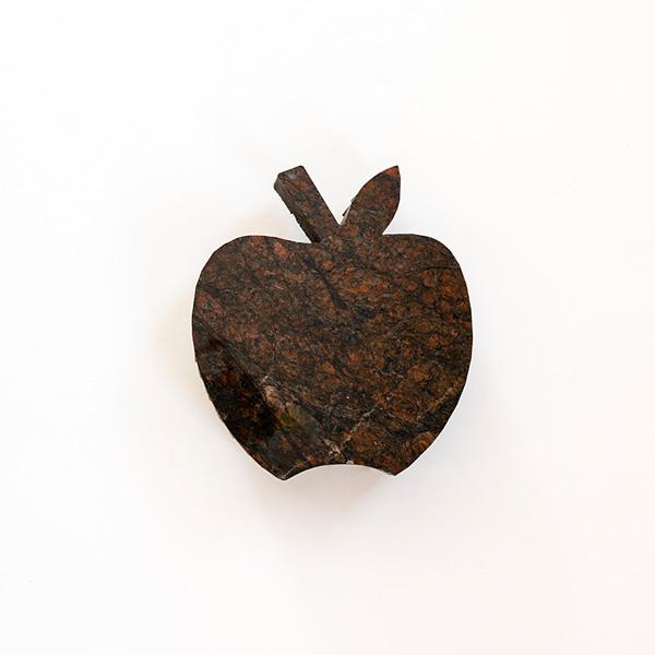 Apple Shape Slab - Reddish Brown