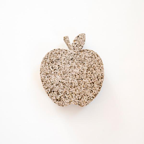 Apple Shaped Slab - Speckled Brown
