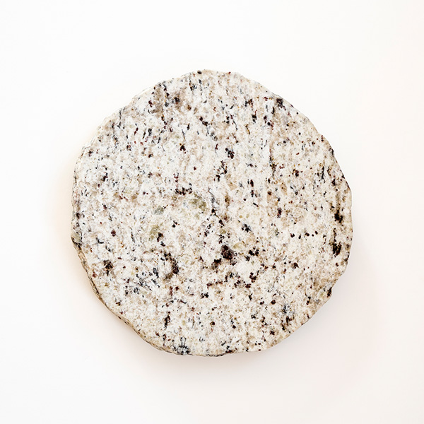 Round Lazy Susan - White with Moss Greens