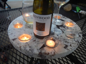 Our Granite Outdoor Table Candle Holder